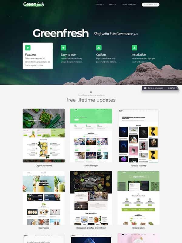 GreenFresh – Creative Multiuse WordPress Theme