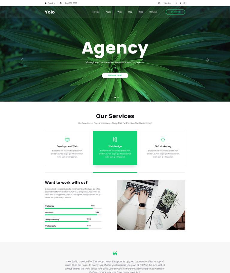 Agency Simple